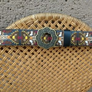 Lucky Brand Jeans Embroidered Belt